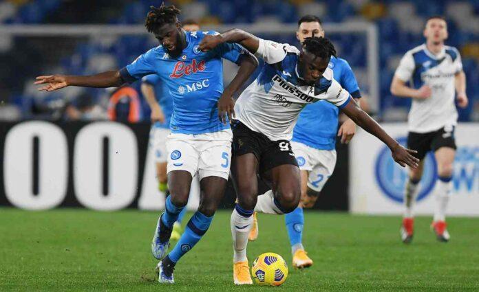 Zapata Bakayoko Napoli Atalanta
