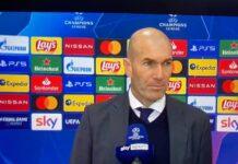 Zidane post Atalanta-Real
