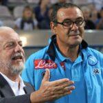 Aurelio De Laurentiis e Sarri