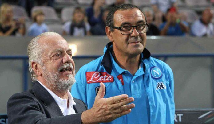 Aurelio De Laurentiis e Sarri1. possibile riavvicinamento