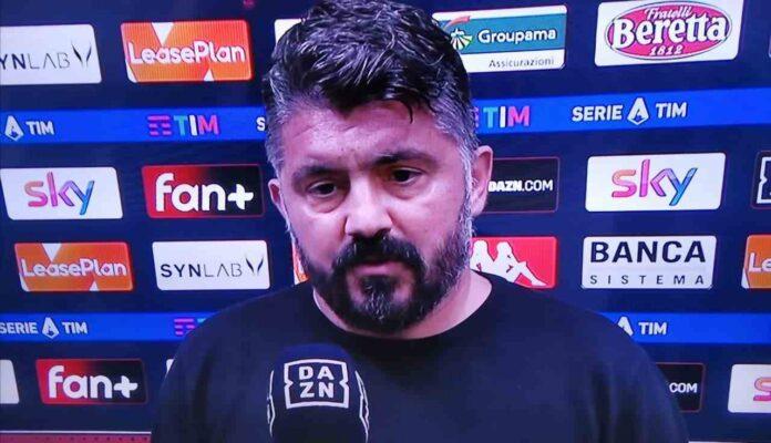 Gattuso in tv