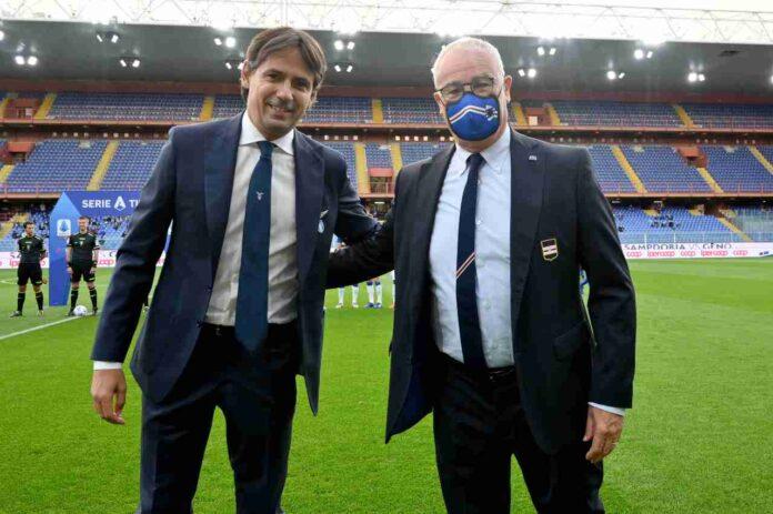 DIRETTA Serie A, Lazio-Sampdoria | Cronaca LIVE, formazioni ufficiali
