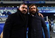 Gattuso e Pirlo