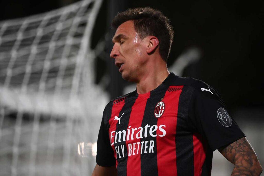 Milan-Inter, infortunio muscolare per Mandzukic | Salta il derby!