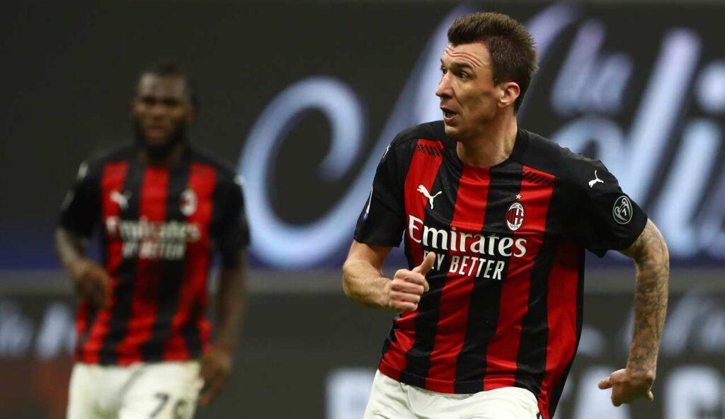 Mario Mandzukic al Milan