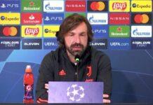 Champions League Juventus-Porto conferenza stampa Pirlo