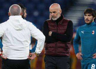 Roma-Milan, altro infortunio per Pioli   Problemi per Rebic
