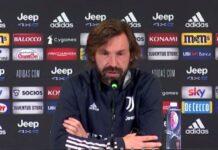 Juventus Pirlo Conferenza