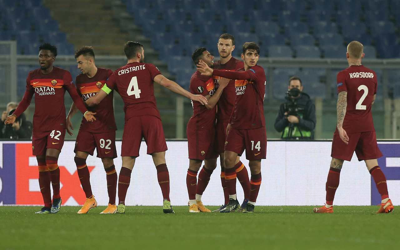 roma braga europa league voti tabellino