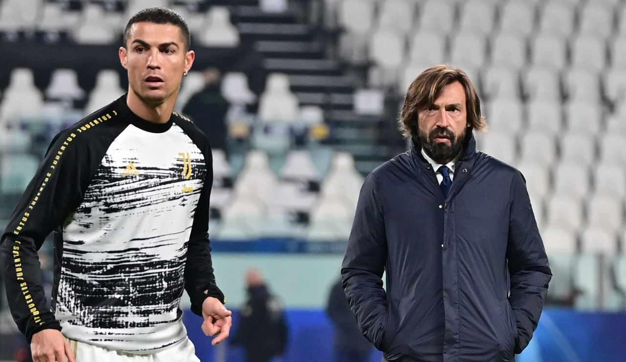 Ronaldo e Pirlo