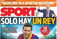 Sport, la prima pagina di oggi 26 febbraio 2021