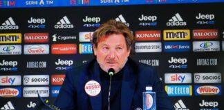 """Juventus-Crotone, Stroppa in conferenza: """"Crediamo nella salvezza"""""""