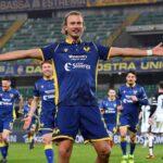 Barak esulta in Verona-Parma