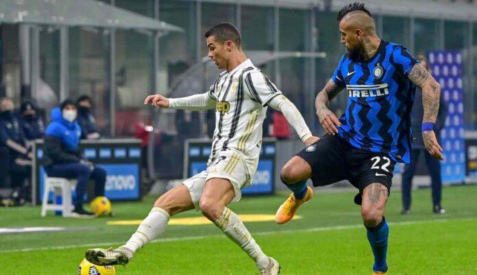 Vidal affronta Ronaldo
