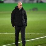 Zidane in panchina