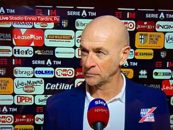 Davide Ballardini post Parma-Genoa