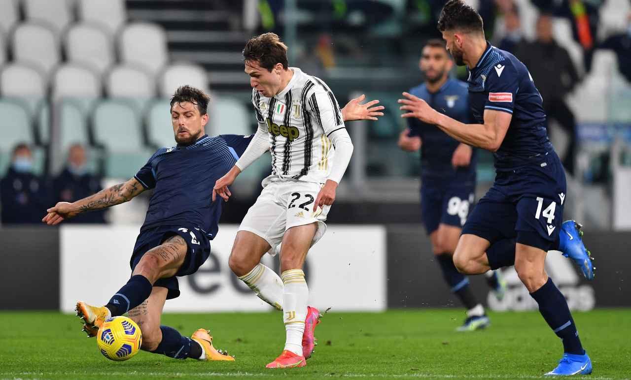 Juventus-Lazio, proteste dei bianconeri per un mancato rigore: l'accaduto