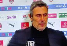 Milan-Udinese, Gotti: ''Rigore a gara finita, con altri sarebbe il finimondo!''