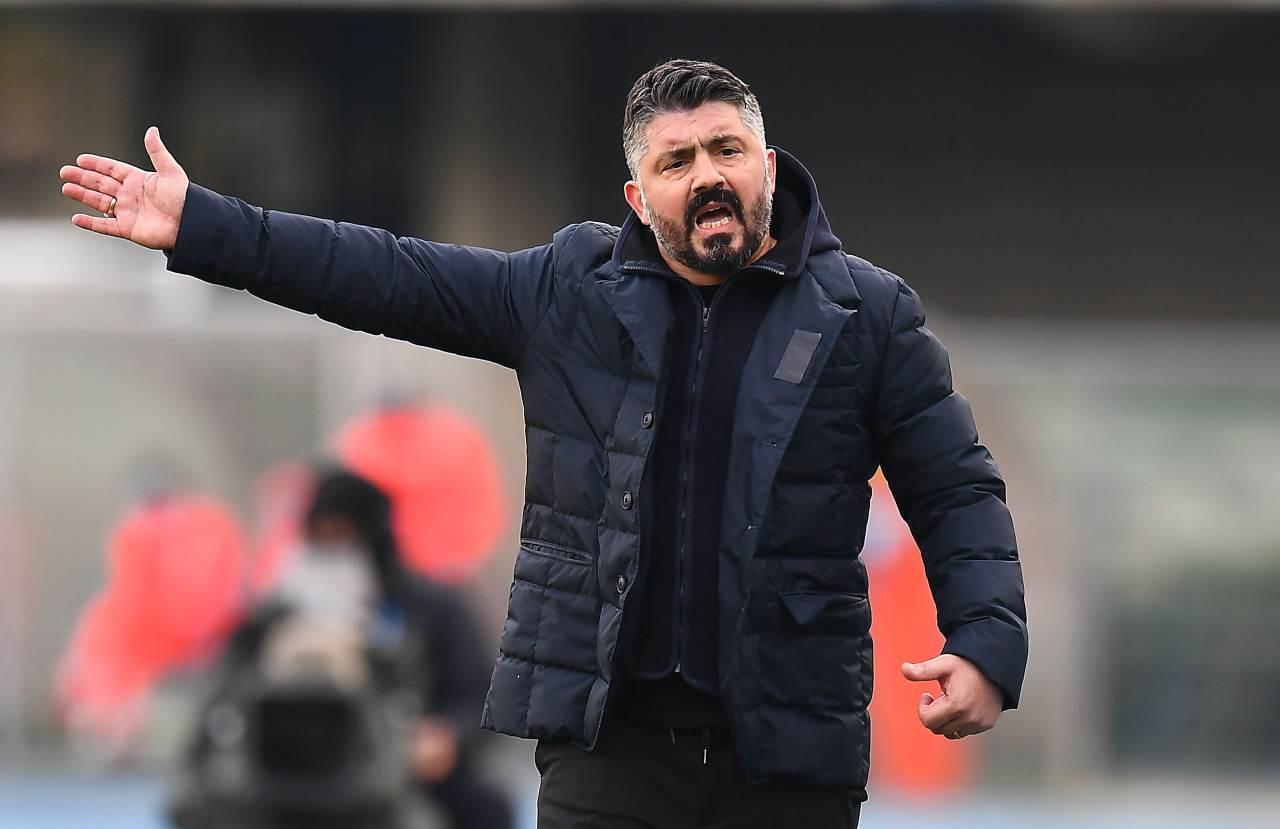 Calciomercato Napoli, esonero Gattuso   ''Disponibilità da Mazzarri''