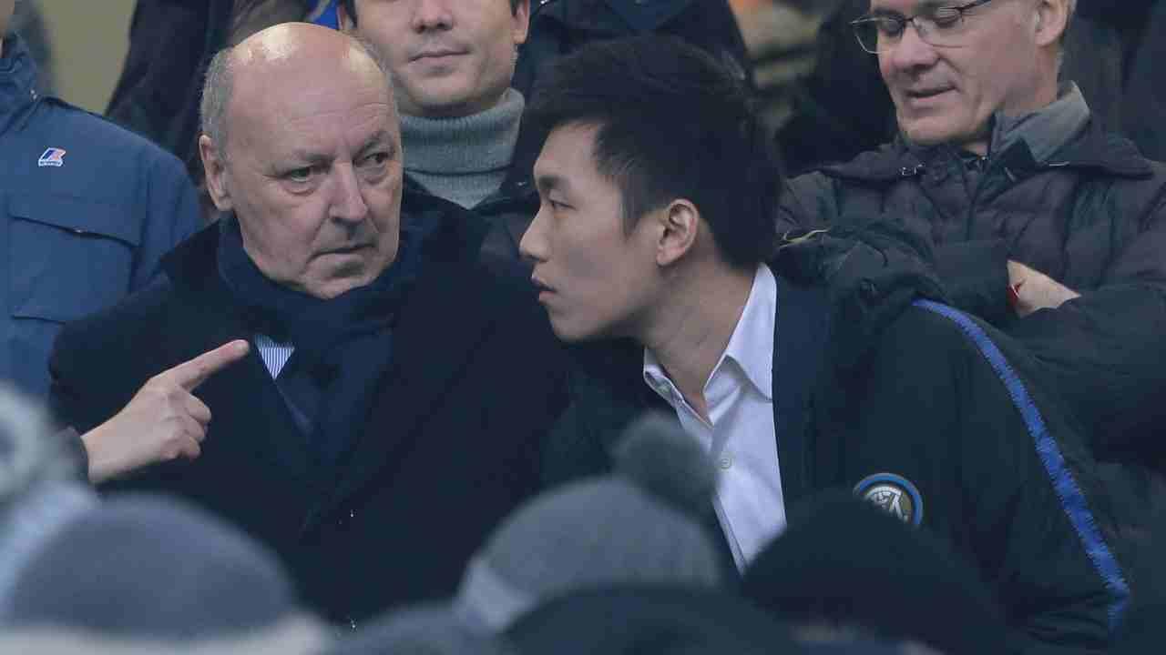 Inter cessione Suning Marotta Zhang