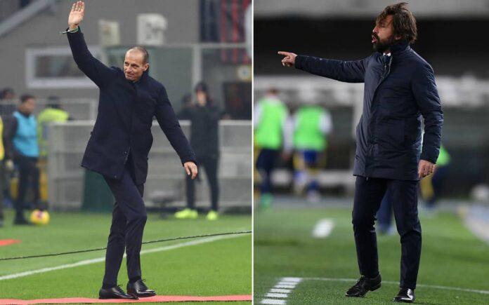 Calciomercato Juventus, Inter e Roma: le ultime su Allegri e Pirlo