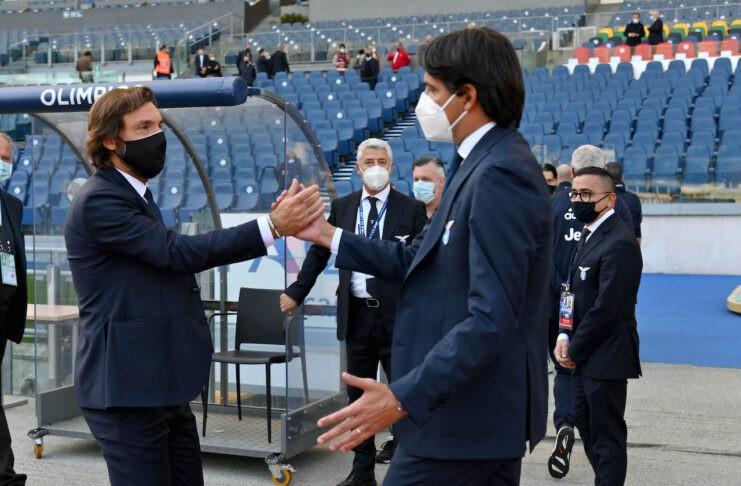Juventus Lazio Pirlo Inzaghi