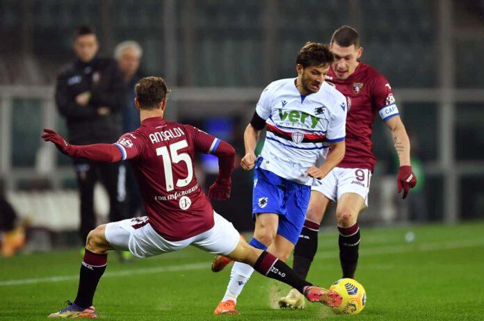 Diretta Sampdoria Torino