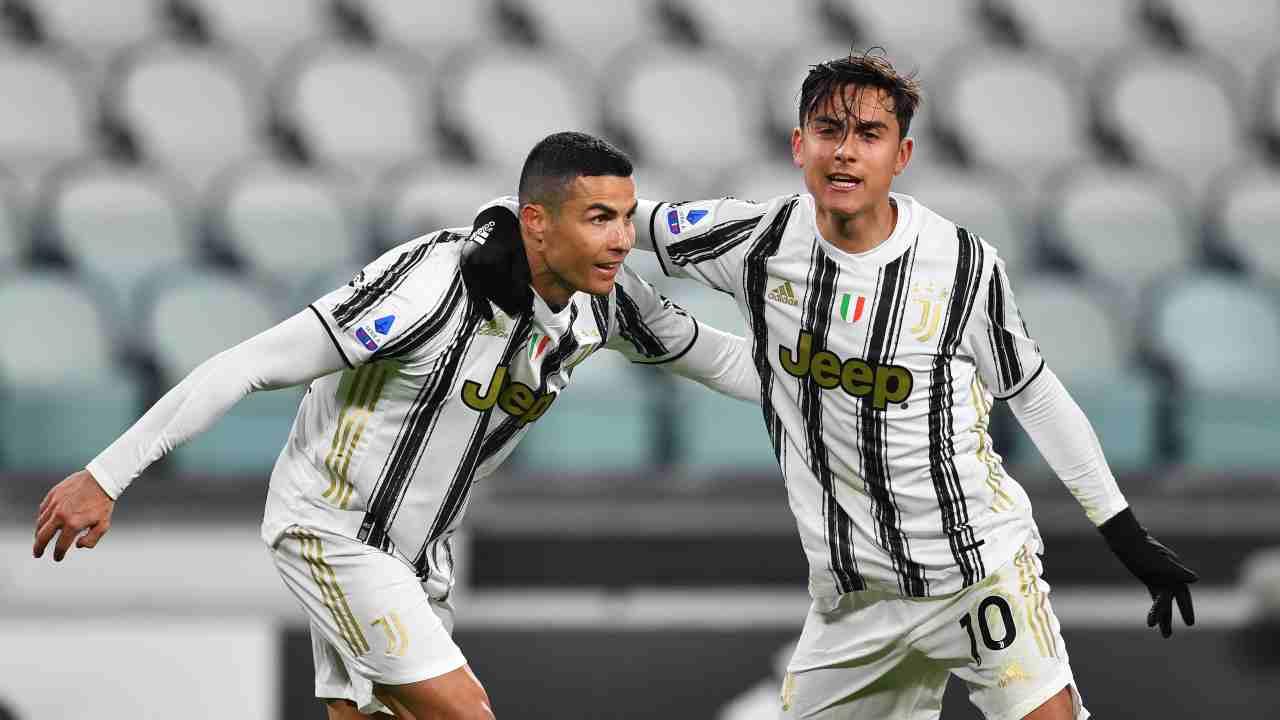 Juventus Cristiano Ronaldo Dybala
