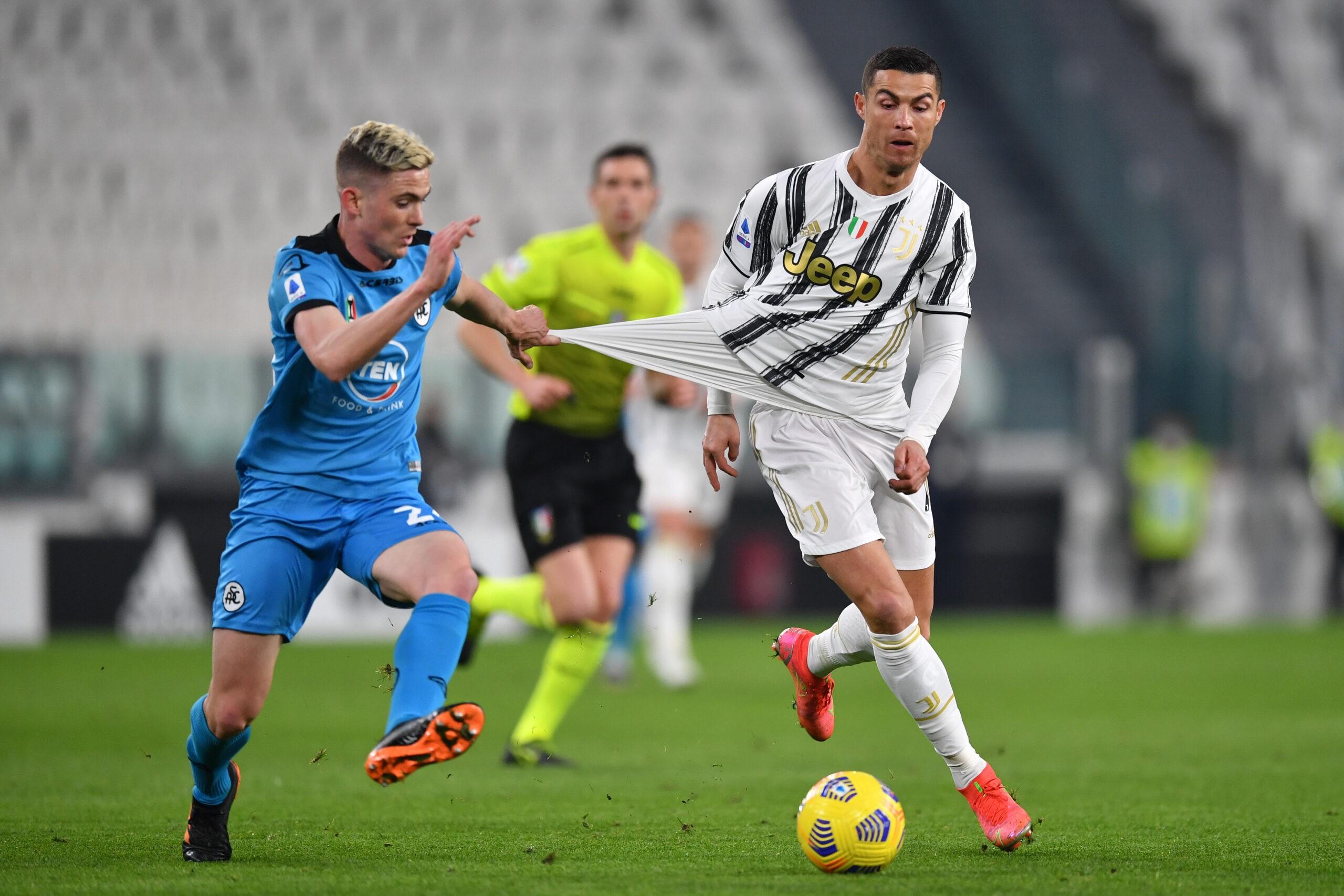 Juventus Spezia Ronaldo