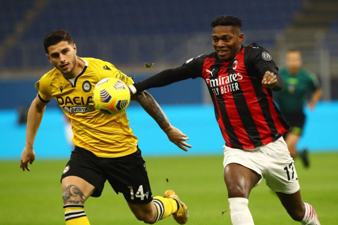 pagella Milan Udinese Leao