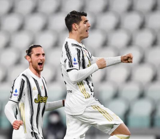 Juventus Lazio Morata