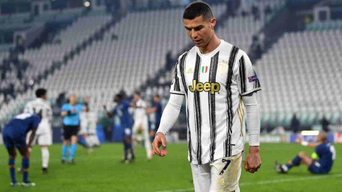 Cagliari-Juventus Cristiano Ronaldo