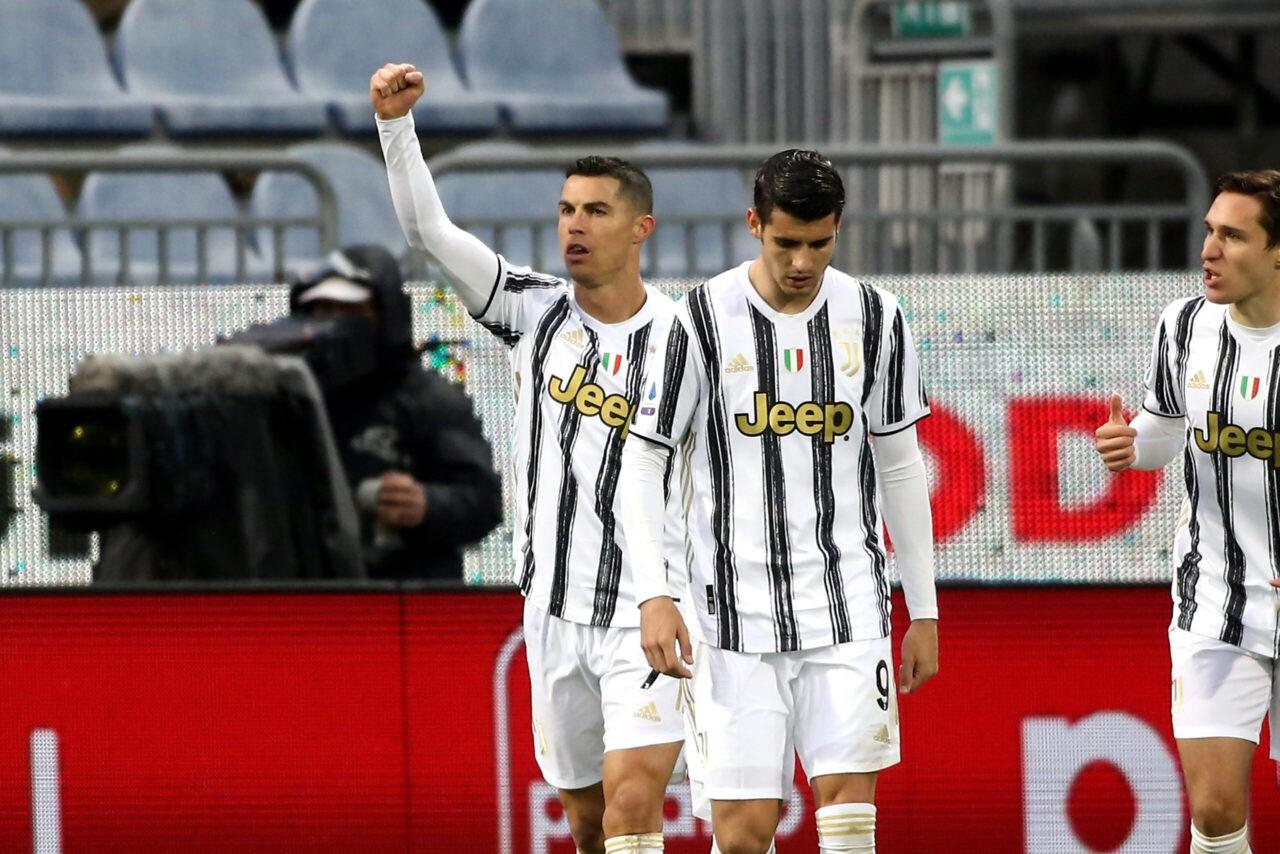 Cagliari Juventus Ronaldo