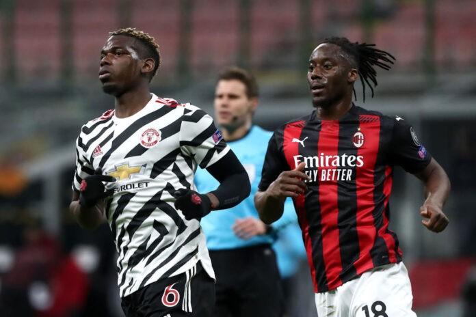 Pogba e Meite pagelle Milan Manchester United
