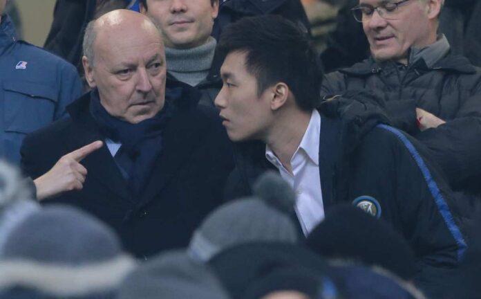 Calciomercato Inter, Marotta e Zhang