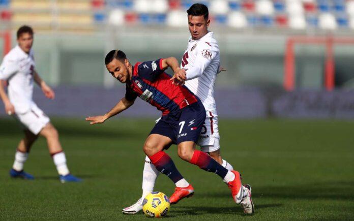 Crotone-Torino diretta