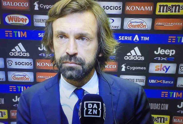 Juventus-Lazio, Pirlo: