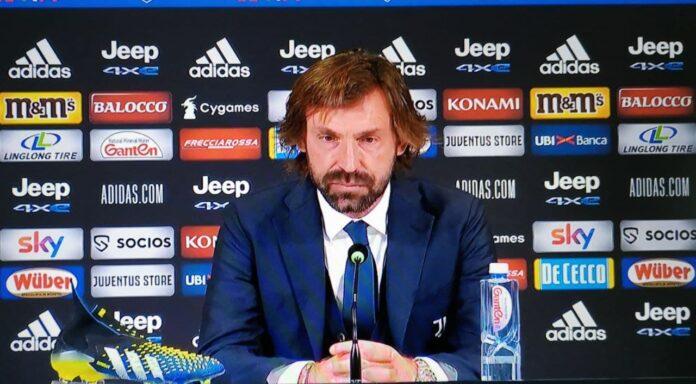 Pirlo conferenza stampa Juve-Spezia
