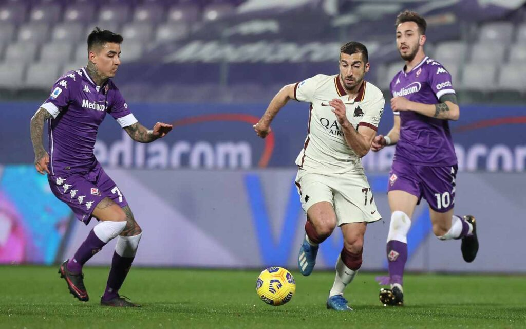 Fiorentina-Roma diretta
