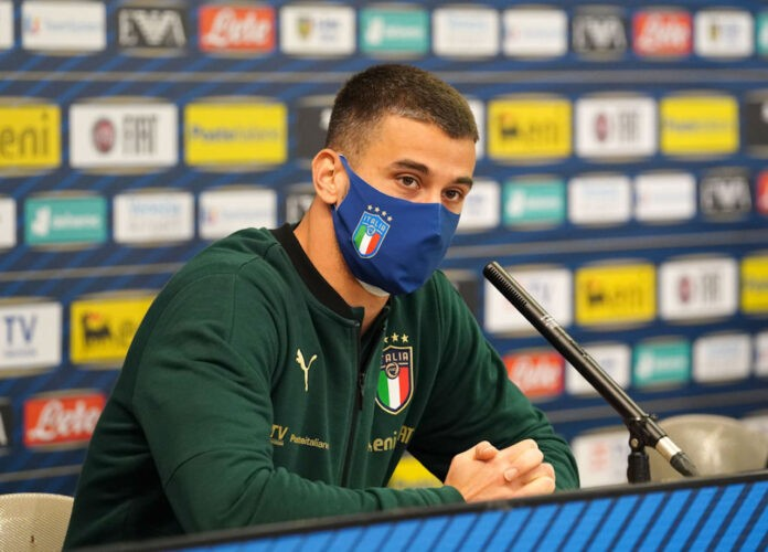 Spinazzola in conferenza
