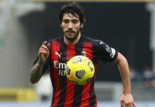 Milan-Udinese, infortunio Tonali | Contrattura al flessore destro
