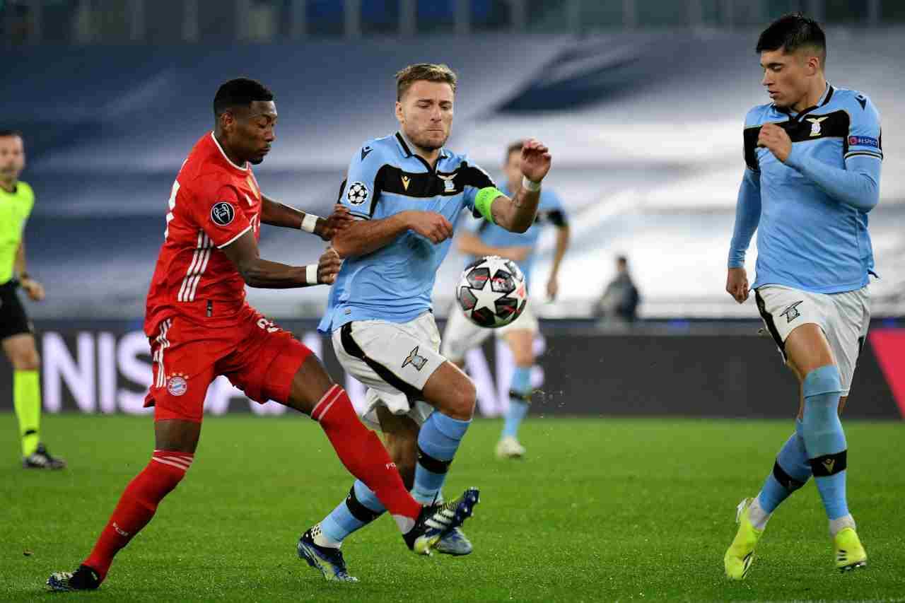 DIRETTA Champions League, Bayern-Lazio | Cronaca LIVE, formazioni