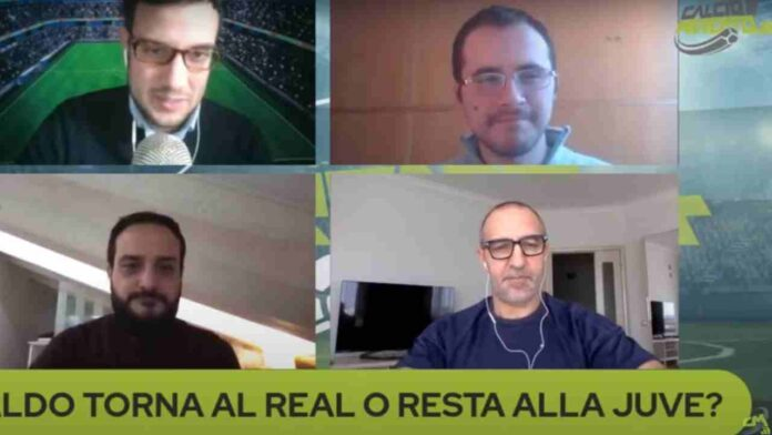 CMIT TV Real Madrid Juventus Cristiano Ronaldo Palliggiano
