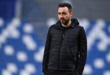 """Sassuolo-Napoli, De Zerbi: """"Un giorno le strade si separeranno"""""""