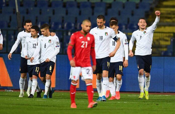 Qual. Mondiali, Bulgaria-Italia 0-2: seconda vittoria consecutiva per Mancini