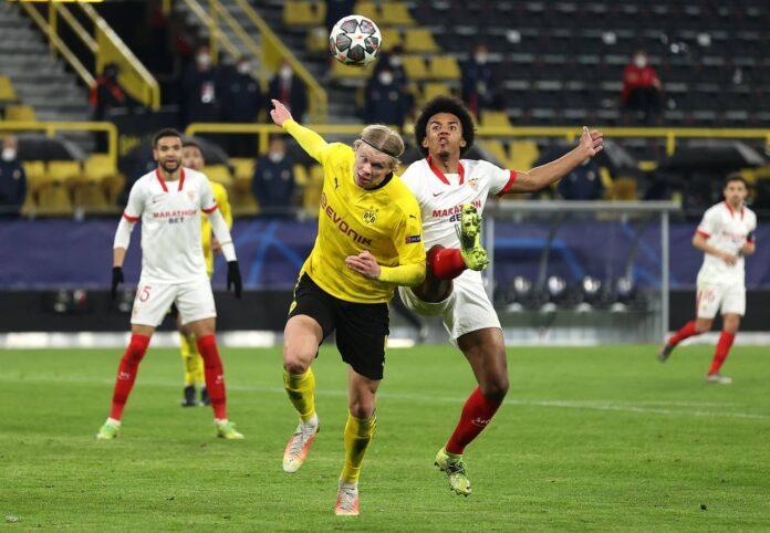 Champions League, Borussia Dortmund-Siviglia 2-2: Haaland decisivo