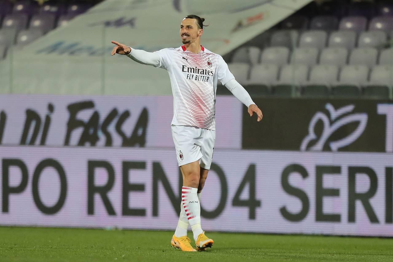 """Fiorentina-Milan, Ibrahimovic: """"Situazione rinnovo sotto controllo"""""""