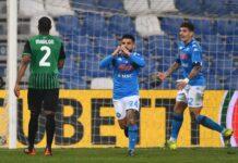 Napoli, tensione dopo il pari col Sassuolo | Insigne contro tutti