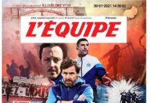 L'Equipe, la prima pagina di oggi 5 marzo 2021