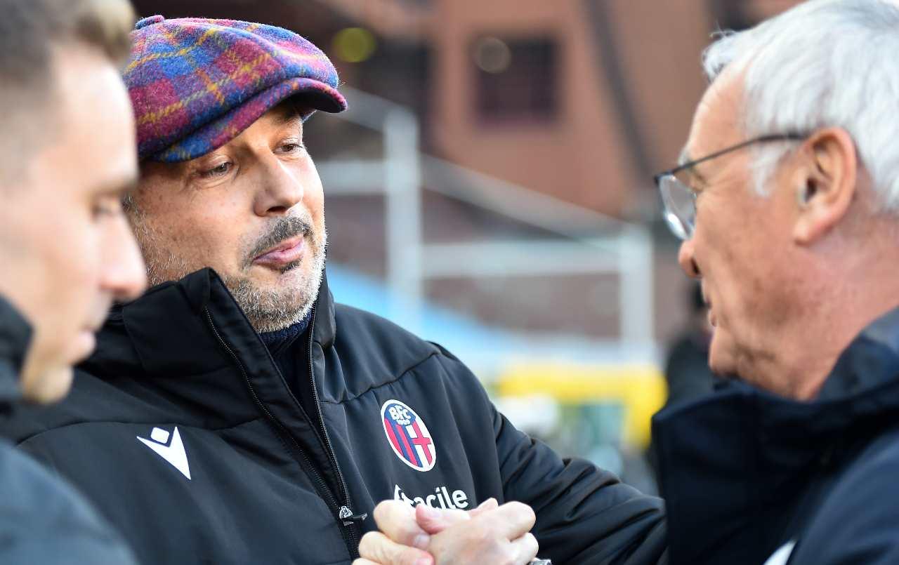 Diretta Bologna-Sampdoria   Formazioni ufficiali e cronaca